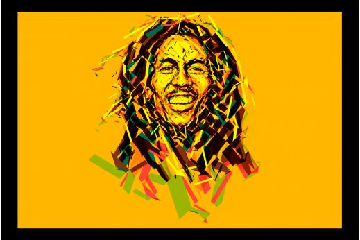 Картина Боб Марли